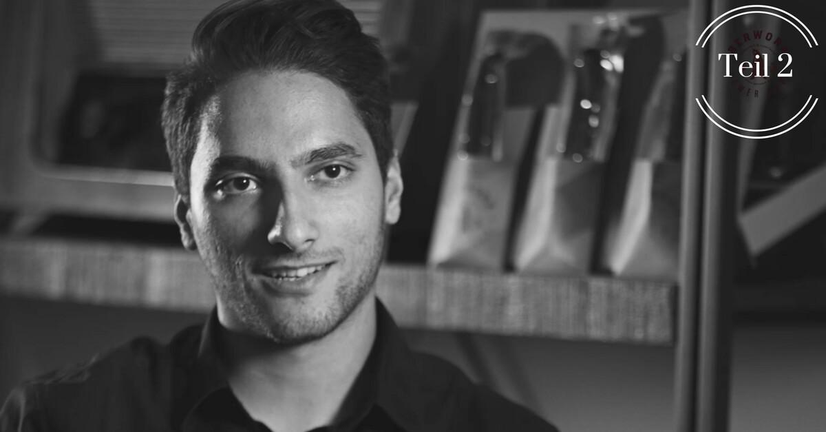 Navid Niyameimandi über Berwork, die Powerwurst to go (Teil 2)
